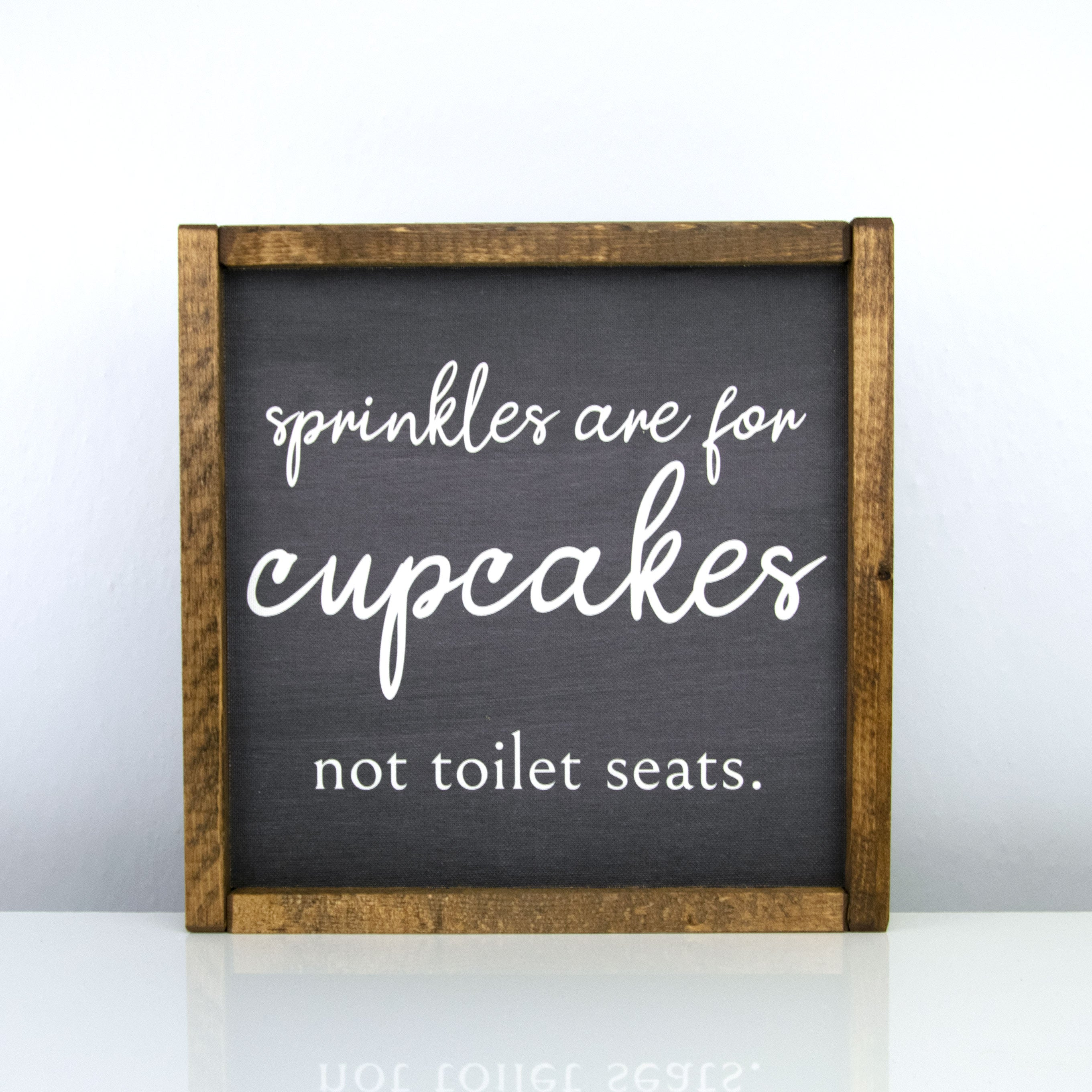 Sprinkles are for Cupcakes | 10 x 10 Bold