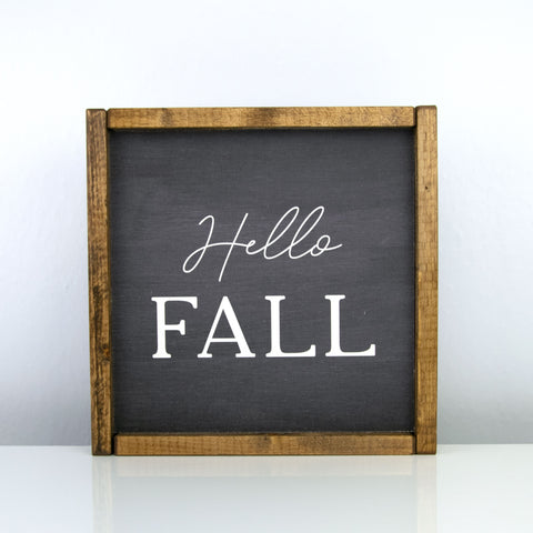 Hello Fall | 10 x 10 Bold