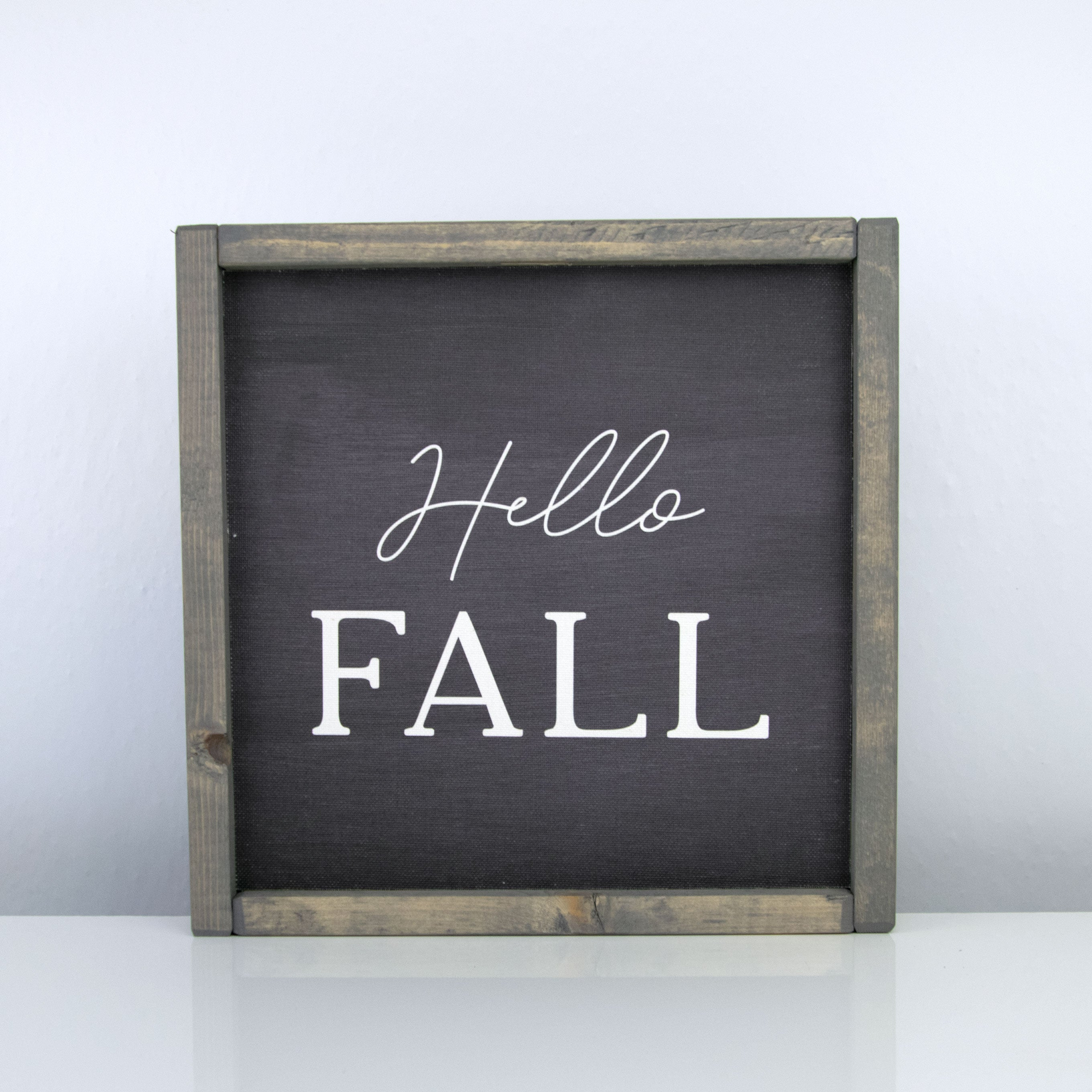 Hello Fall | 10 x 10 Midnight
