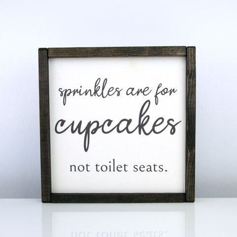 Sprinkles are for Cupcakes | 10 x 10 Modern