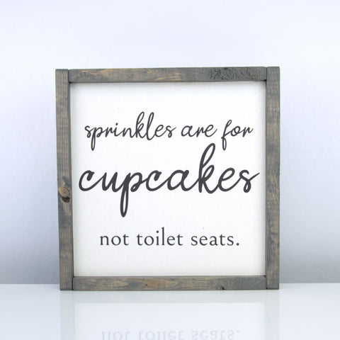 Sprinkles are for Cupcakes | 10 x 10 Vintage