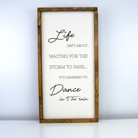 Dance In The Rain | 10 x 20 Classic