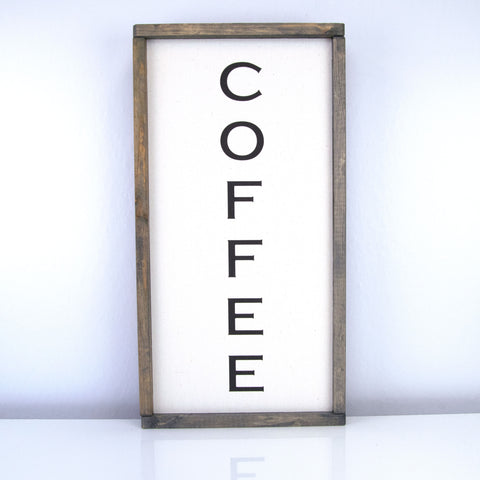 Coffee (Vertical) | 10 x 20 Vintage