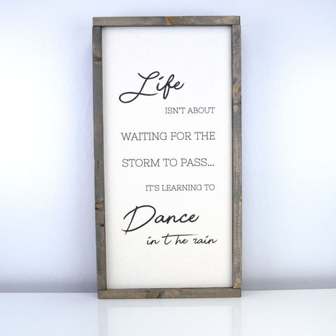 Dance In The Rain | 10 x 20 Vintage