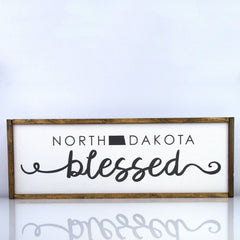 North Dakota Blessed | 10 x 30 Classic