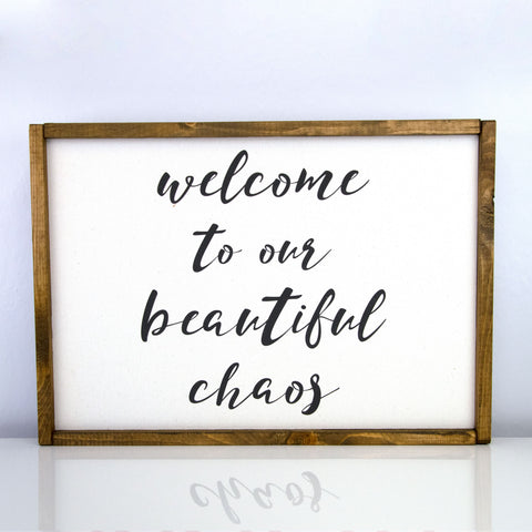 Beautiful Chaos | 14 x 20 Classic