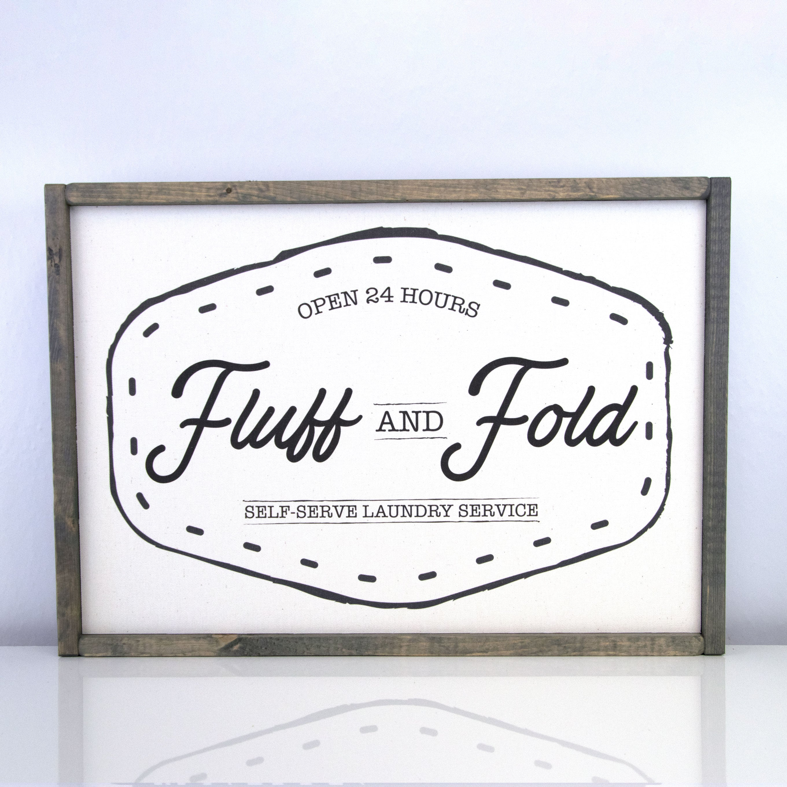 Fluff and Fold | 14 x 20 Vintage