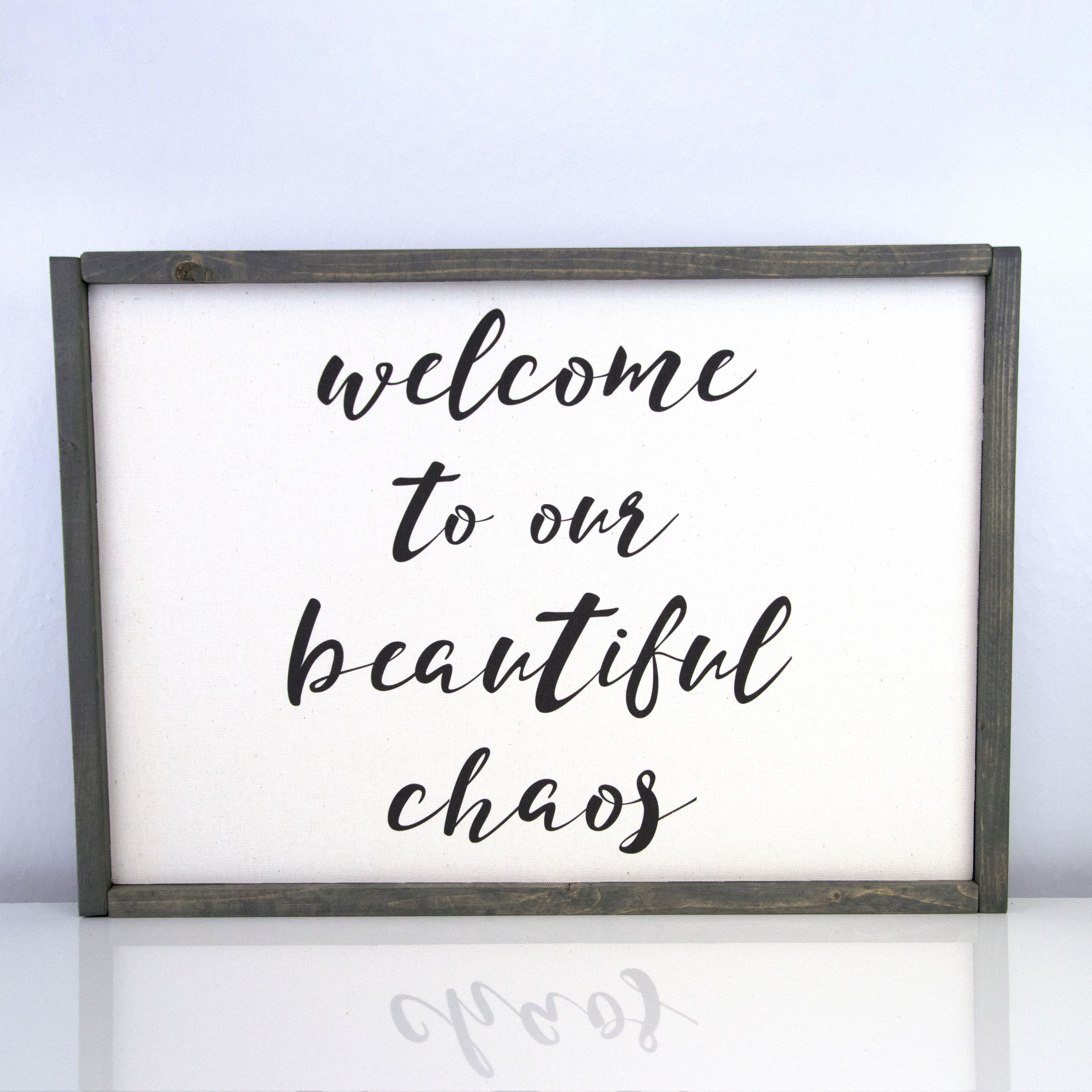 Beautiful Chaos | 14 x 20 Vintage