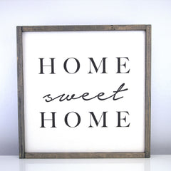 Home Sweet Home | 16 x 16 Vintage