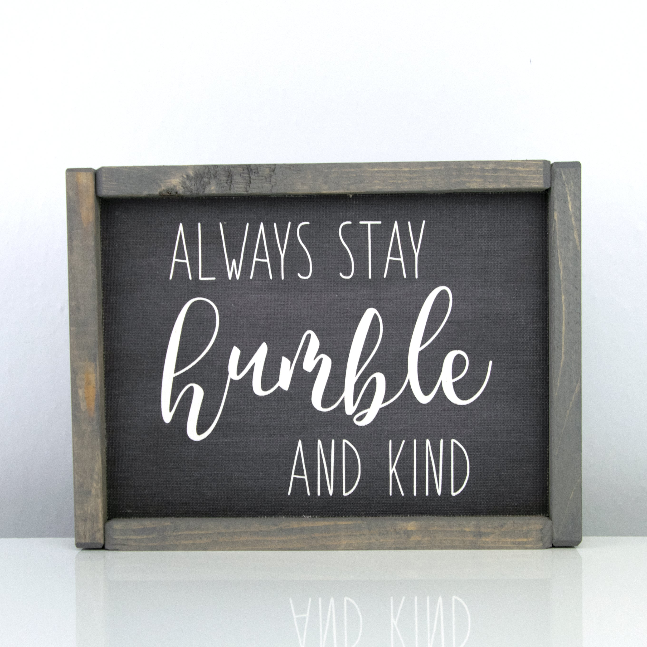 Humble & Kind | 8 x 10 Midnight
