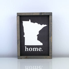 Minnesota Home | 8 x 10 Midnight