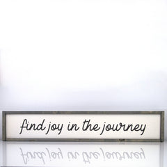 Find Joy In The Journey | 7 x 36 Vintage