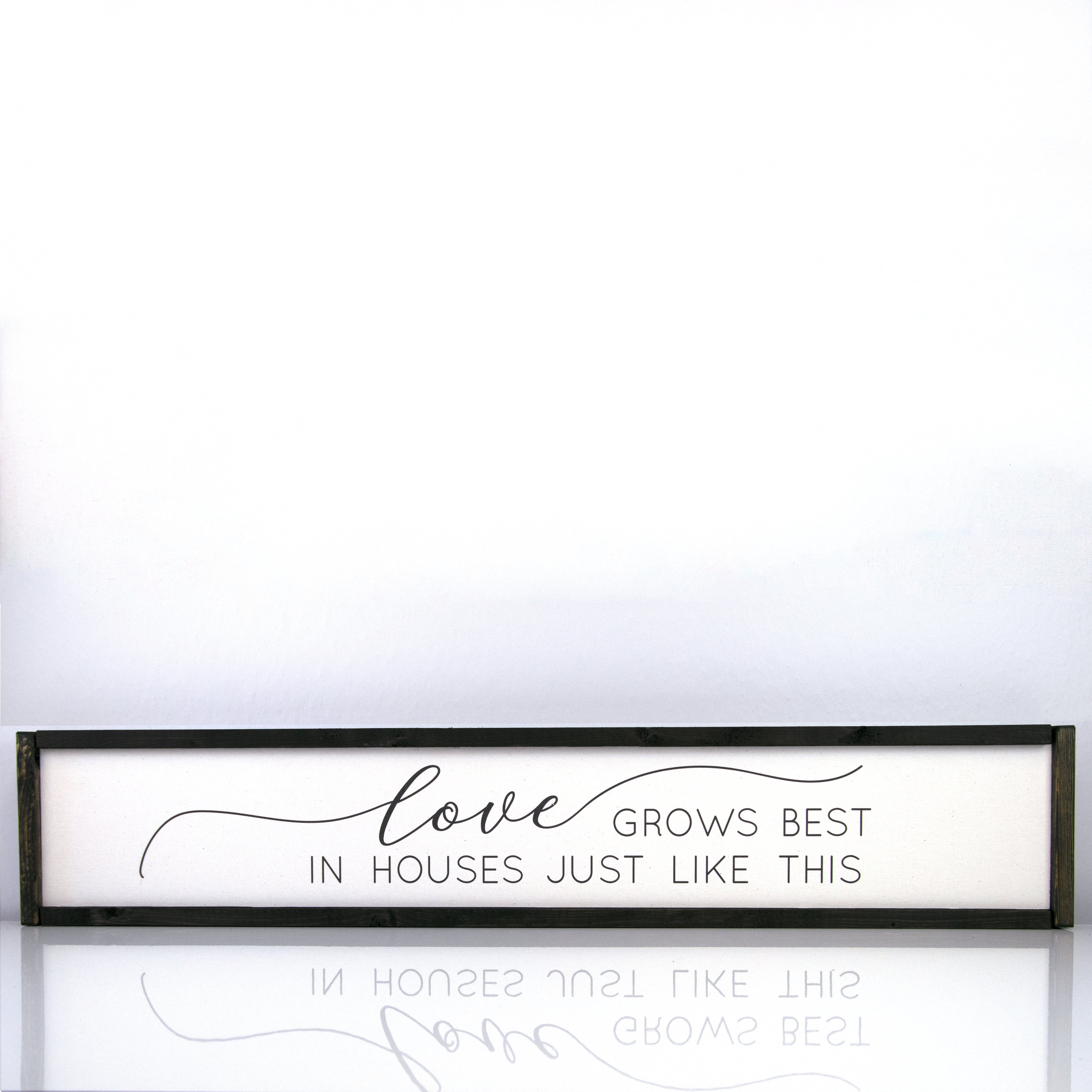 Love Grows Best | 7 x 36 Modern