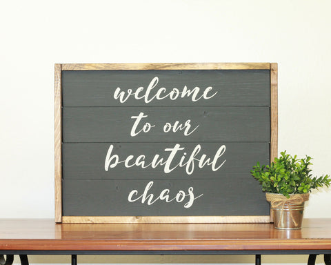 Beautiful Chaos | 14 x 20 Bold