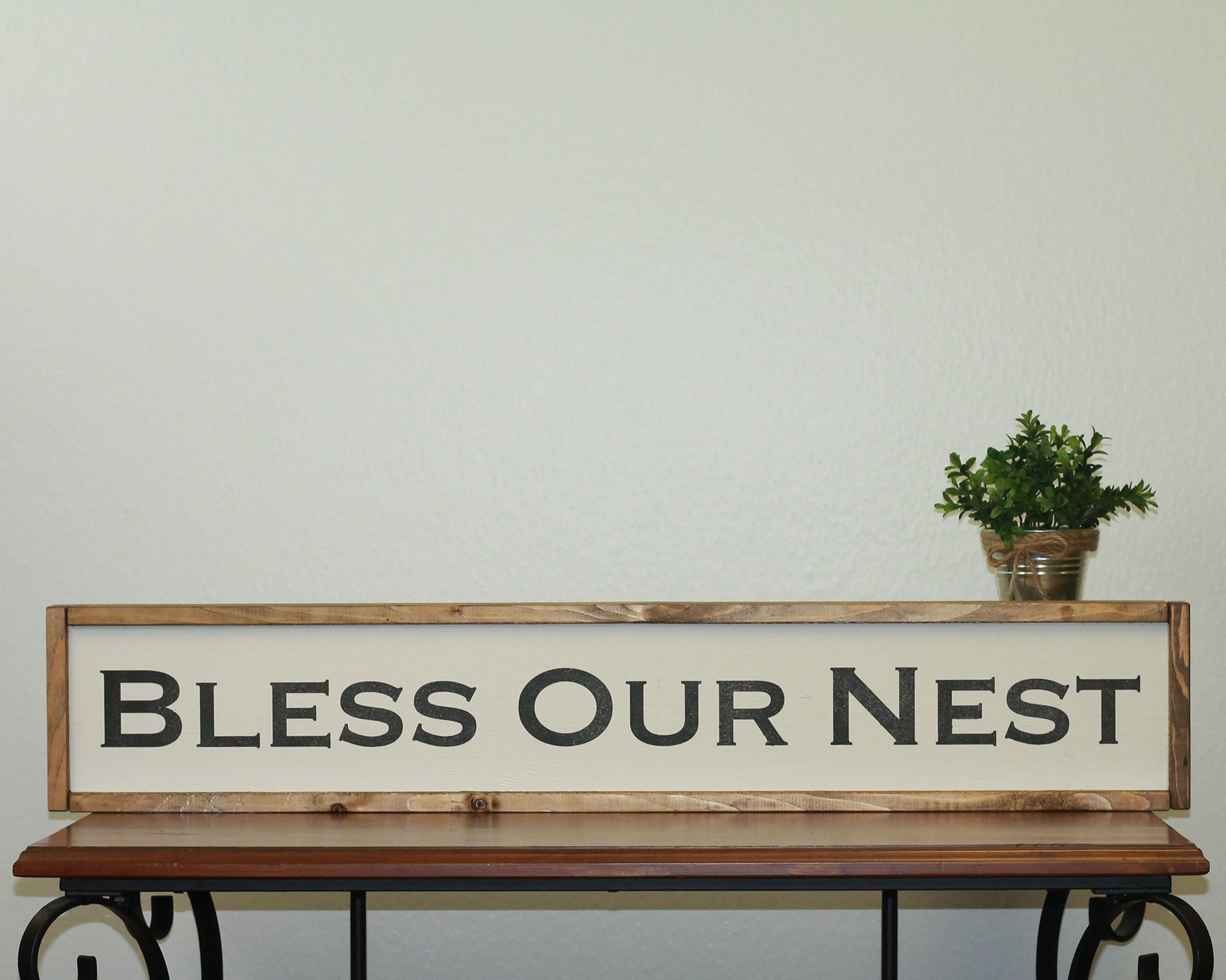 Bless Our Nest | 7 x 36 Classic
