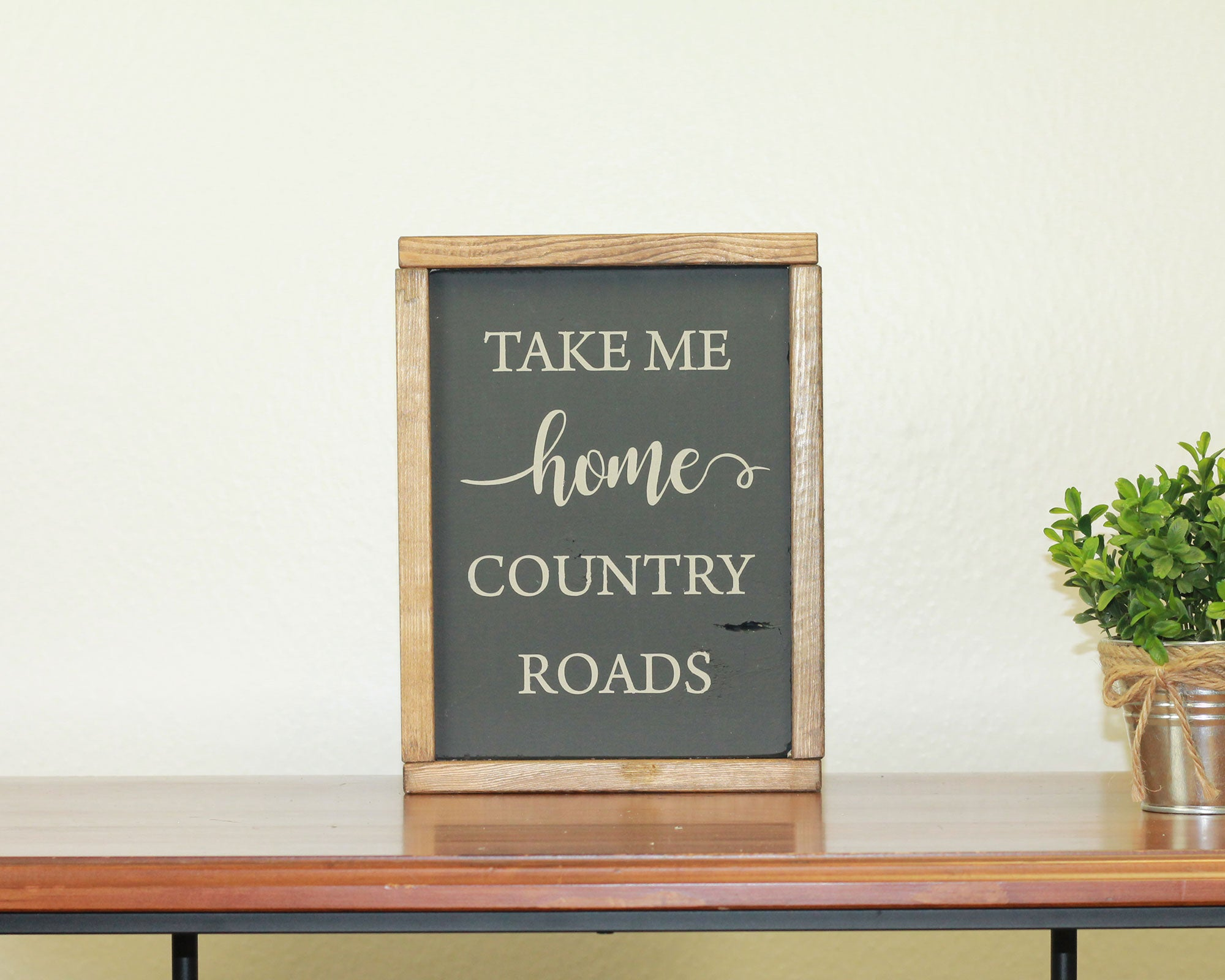 Country Roads | 8 x 10 Bold