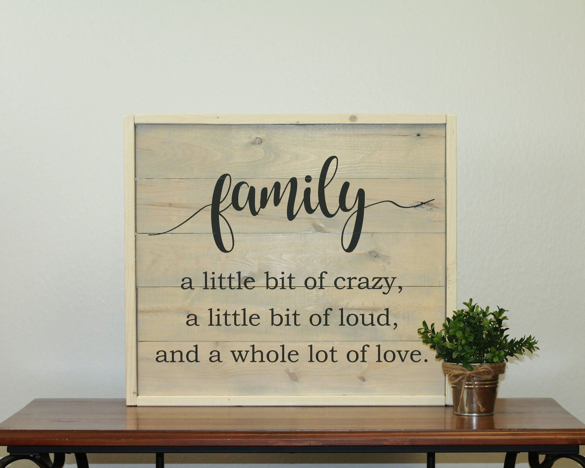Family Recipe | 17 x 20 Antique