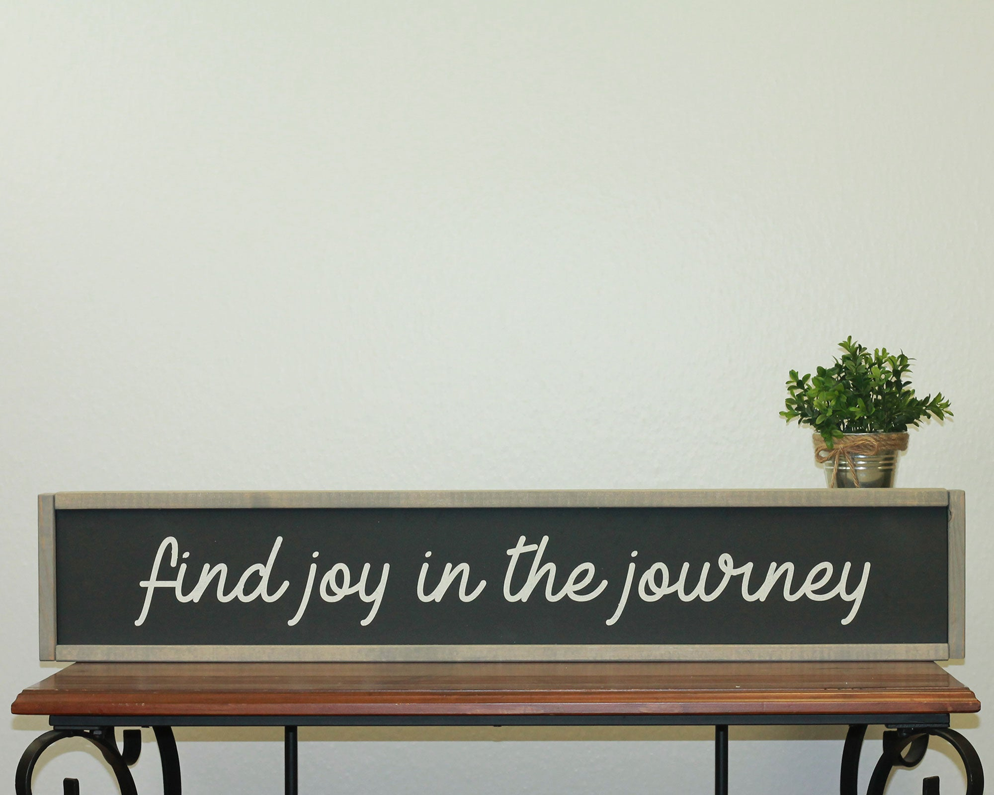 Find Joy In The Journey | 7 x 36 Midnight