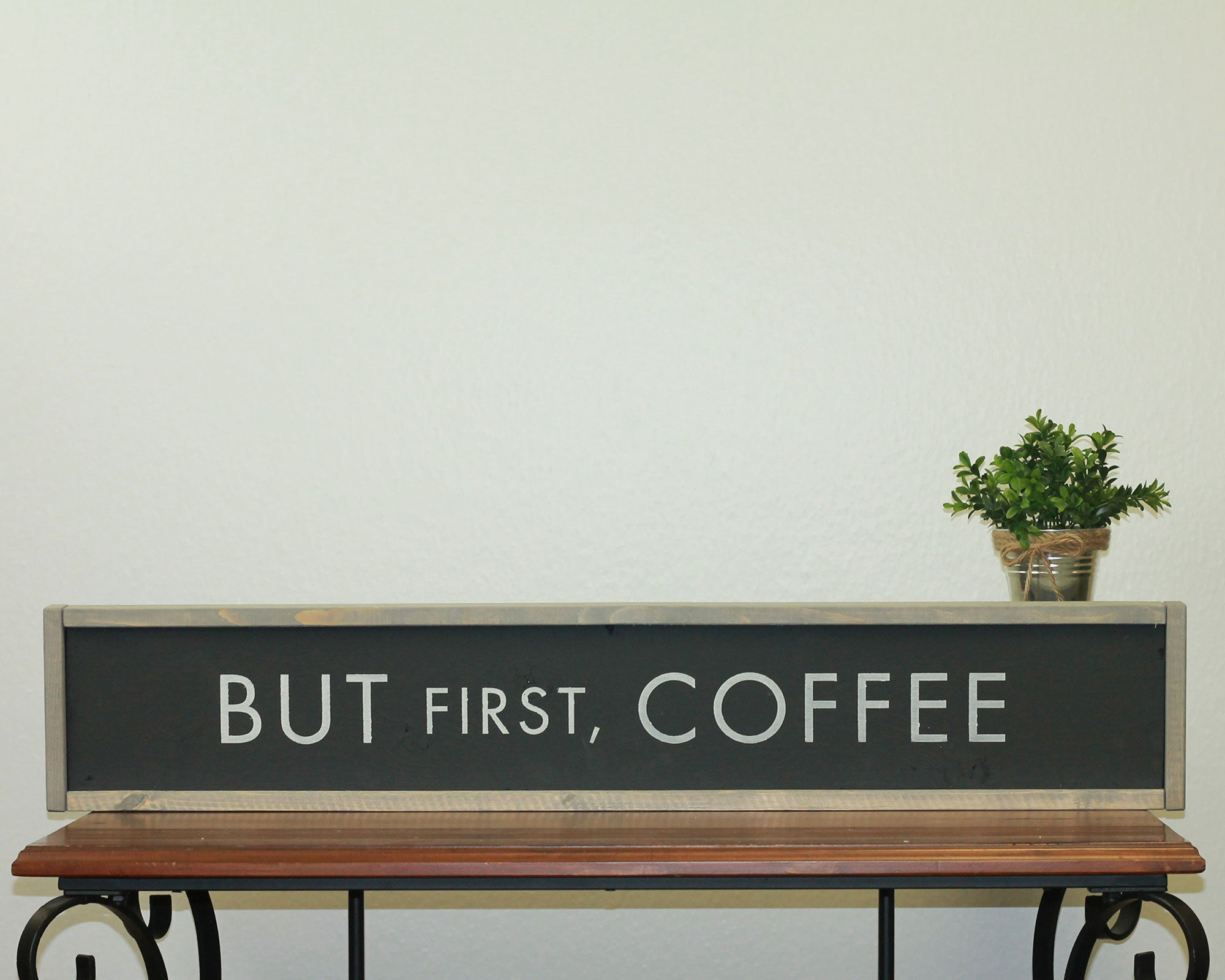 But First Coffee | 7 x 36 Midnight