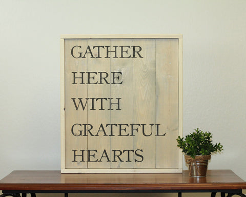 Gather Here | 17 x 20 Antique