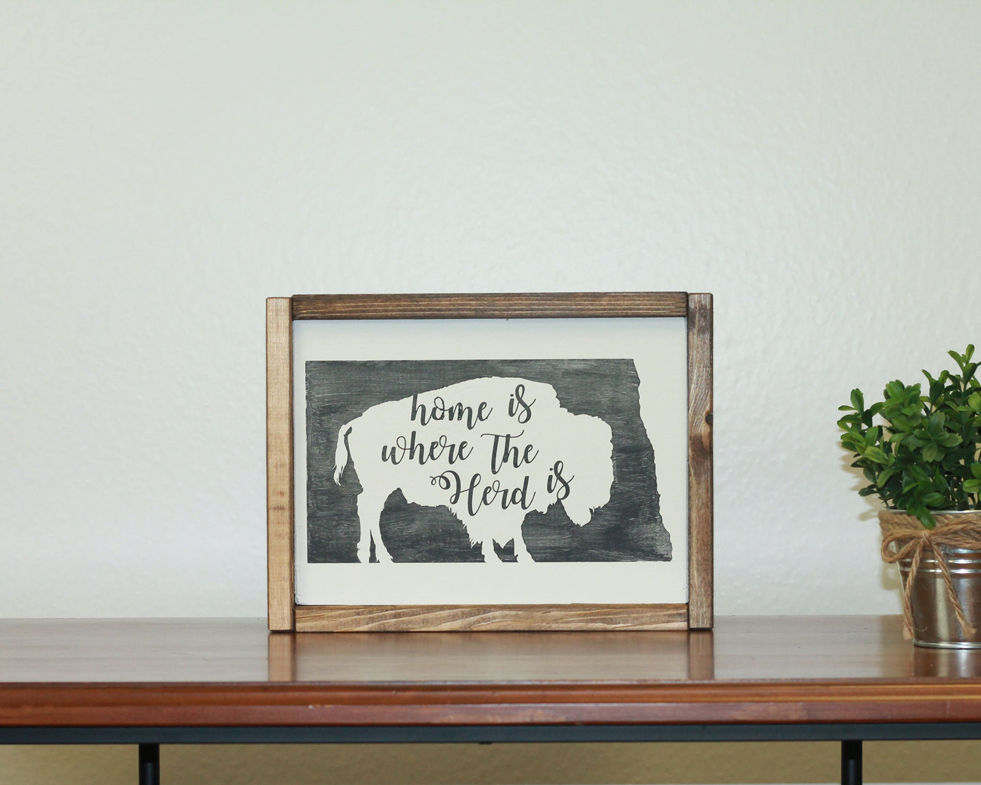 Home Is Where Our Herd Is | 8 x 10 Classic