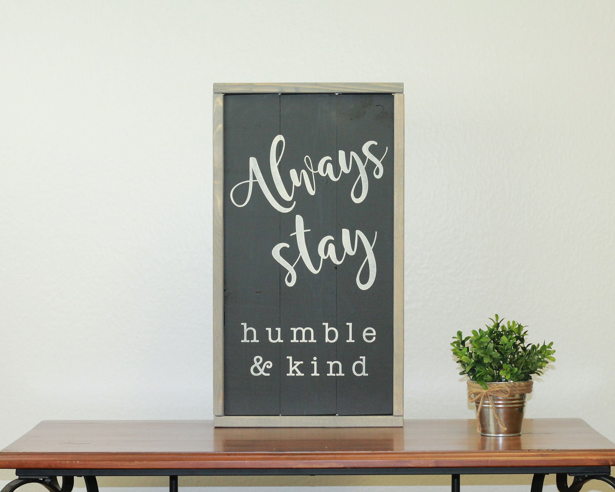 Humble & Kind | 10 x 20 Midnight