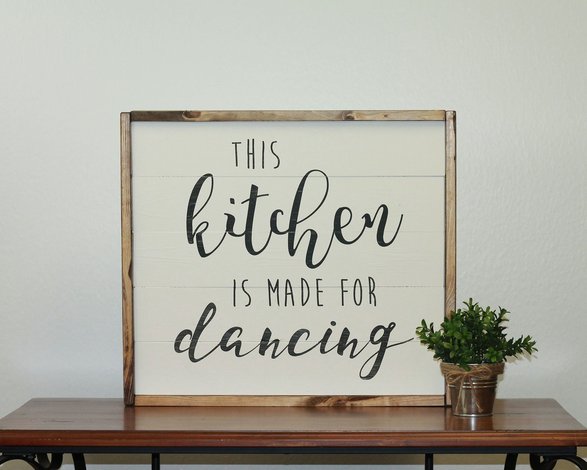 Kitchen Is Made For Dancing | 17 x 20 Classic