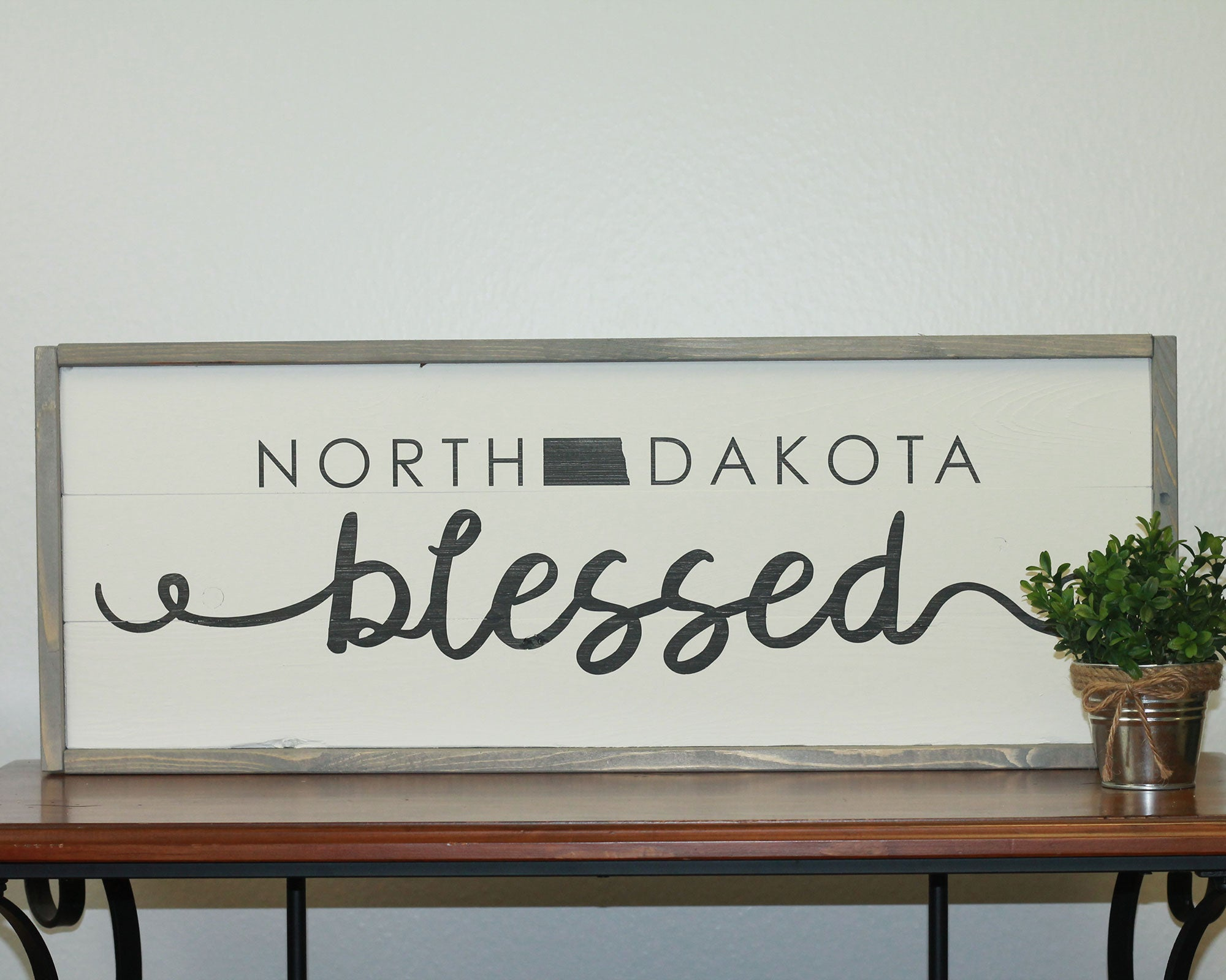 North Dakota Blessed | 10 x 30 Vintage