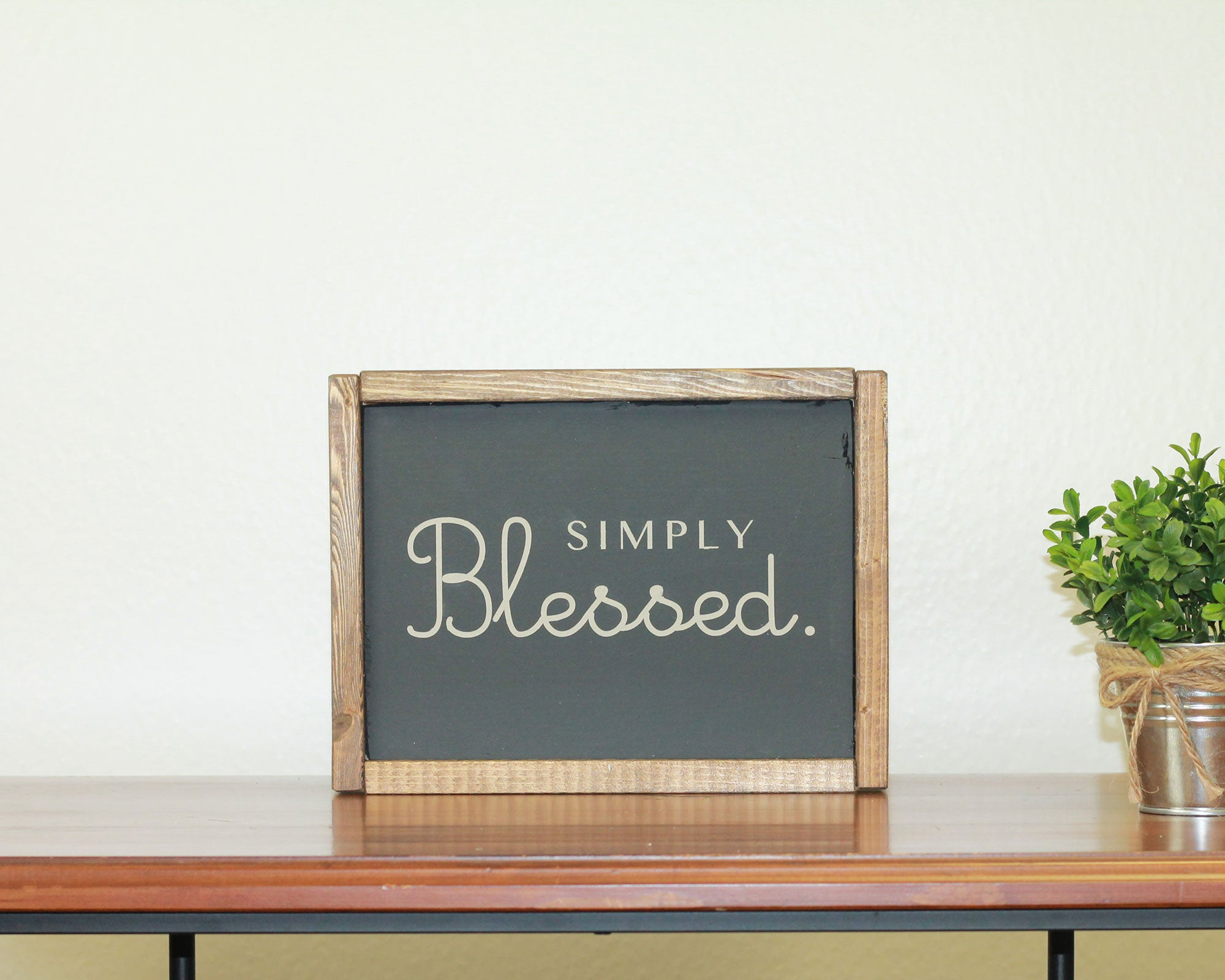 Simply Blessed | 8 x 10 Bold
