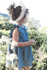 Arla Linen Flutter Dress