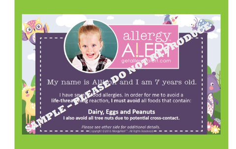[Cute Allergy Safeguards For Kids Online] - Allergy Alert