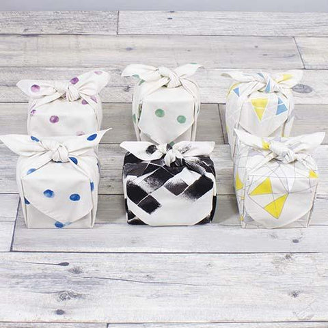 Organic Cotton Furoshiki | Black Charcoal by Yamada Seni - Bento&co Japanese Bento Lunch Boxes and Kitchenware Specialists