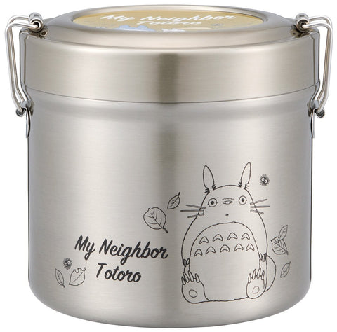 Totoro Stainless Steel Insulated Bento Box | Large by Skater - Bento&co Japanese Bento Lunch Boxes and Kitchenware Specialists
