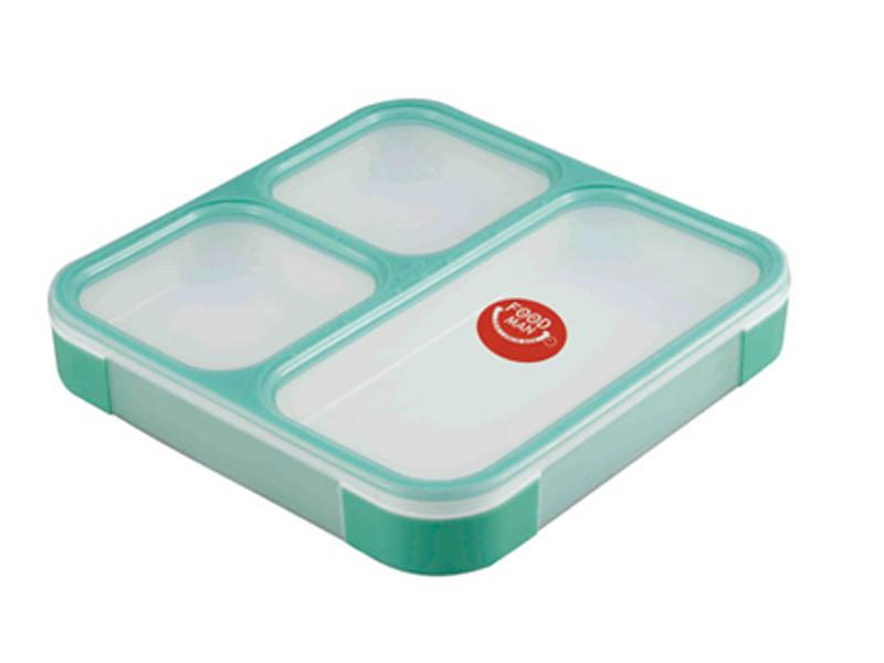 Foodman Bento Box 800 ml | ミントグリーン