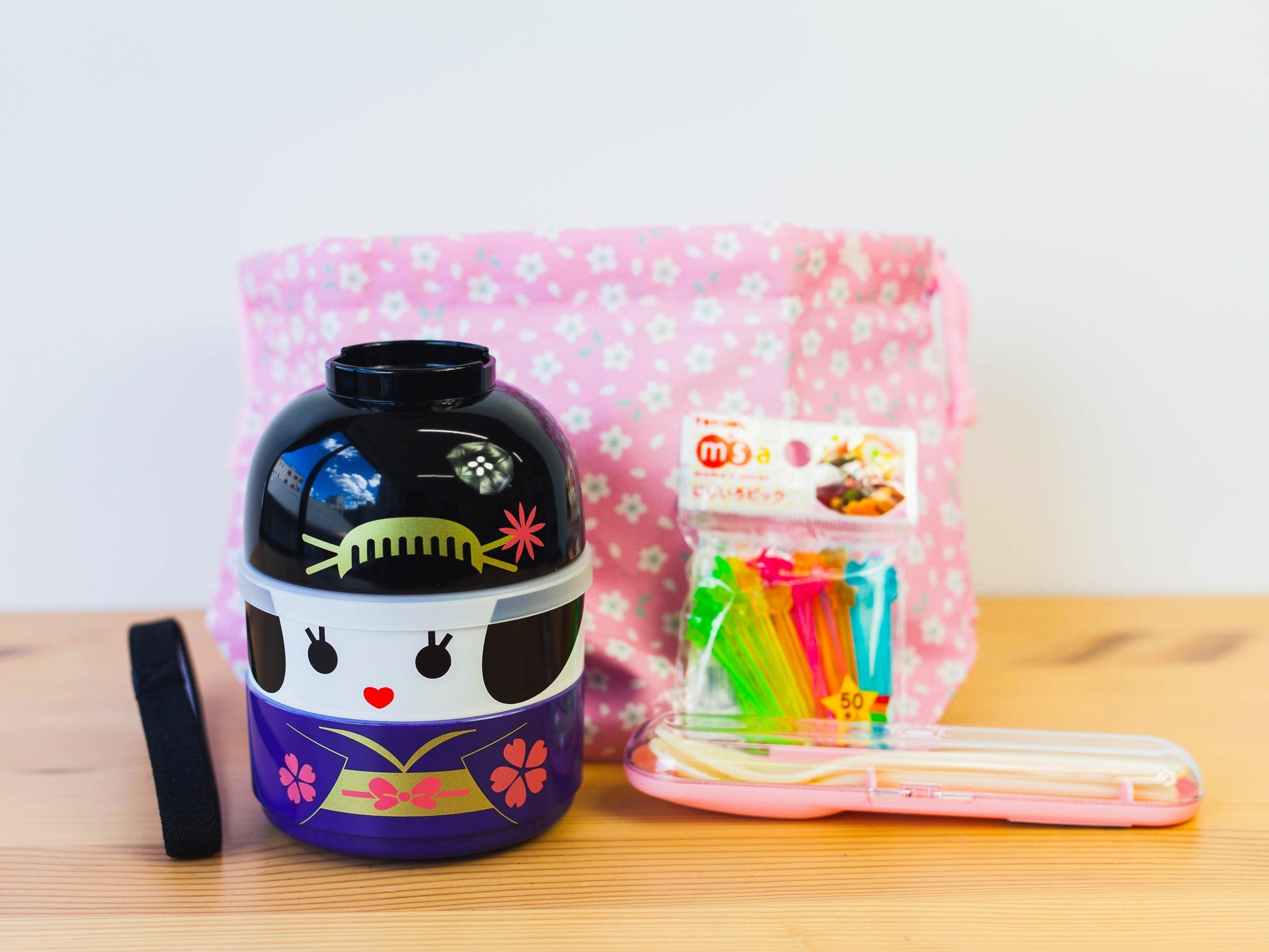 Kokeshi Geiko Bundle by Bento&co Bundles - Bento&co Japanese Bento Lunch Boxes and Kitchenware Specialists