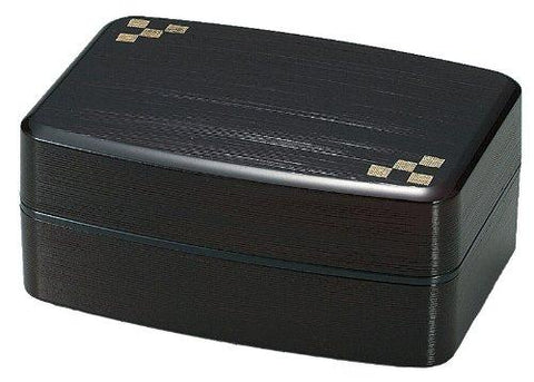 Yamato Modern Squares Bento Box by Hakoya - Bento&co Japanese Bento Lunch Boxes and Kitchenware Specialists
