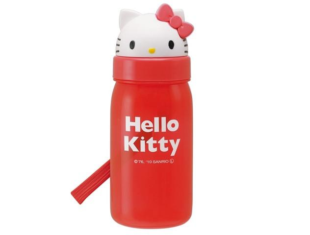 Hello Kitty Bottle w/ Straw by Skater - Bento&co Japanese Bento Lunch Boxes and Kitchenware Specialists