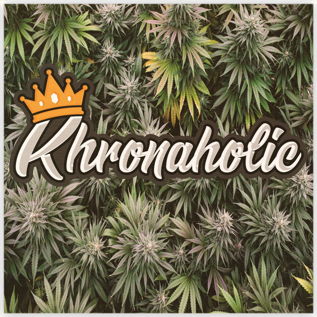 "Khronaholic ""Buds All Over"" Wood Print"