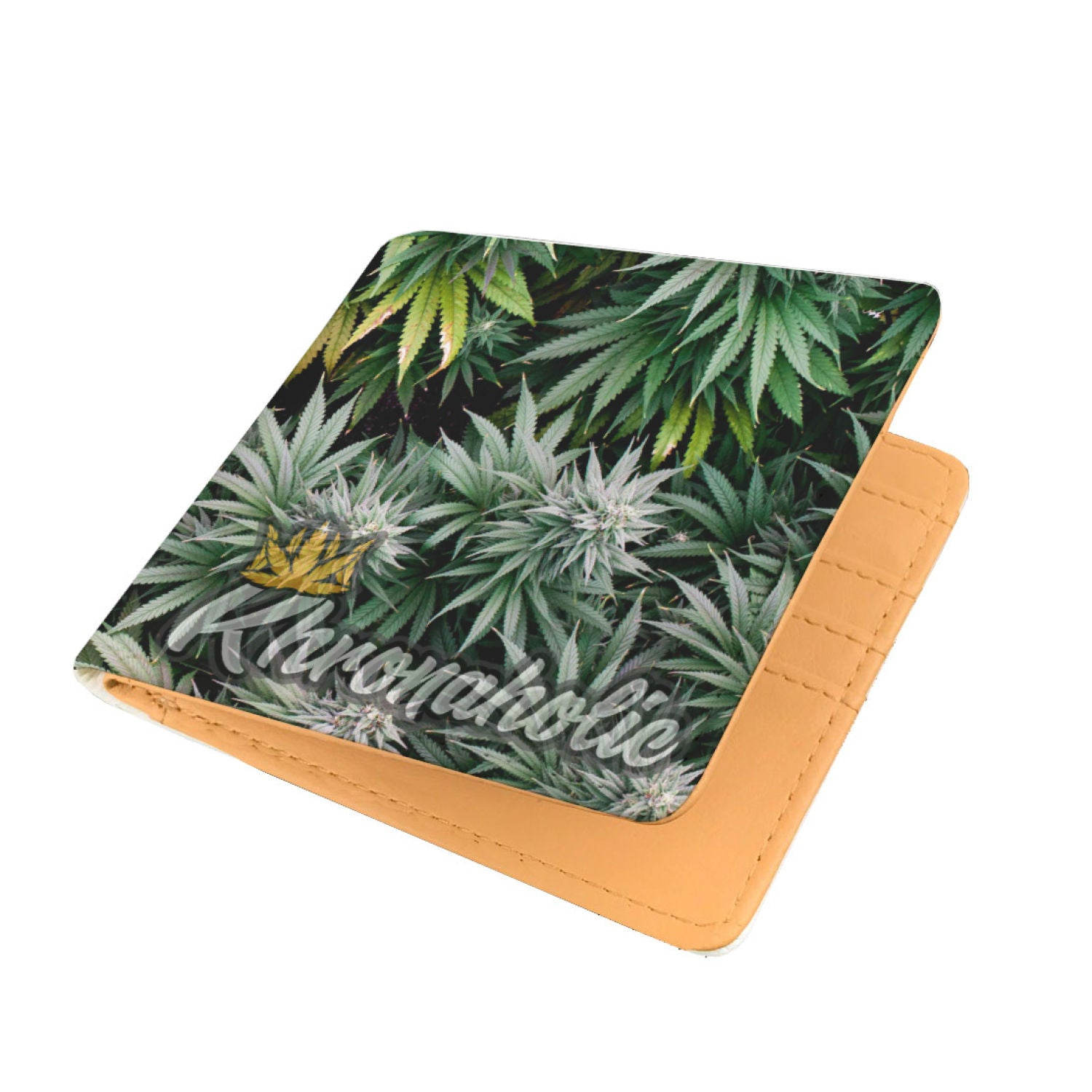 "Khronaholic ""Buds All Over"" CannaCrown Collection Men's Wallet"