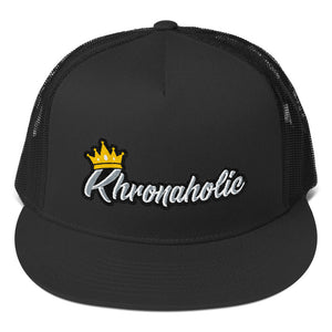 Khronaholic 5 Panel Snap Back Trucker Cap