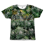 "Khronaholic ""Bud All Over"" CannaCrown Collection Men's T-Shirt"