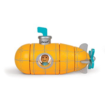 Magnetic Submarine 3D Puzzle