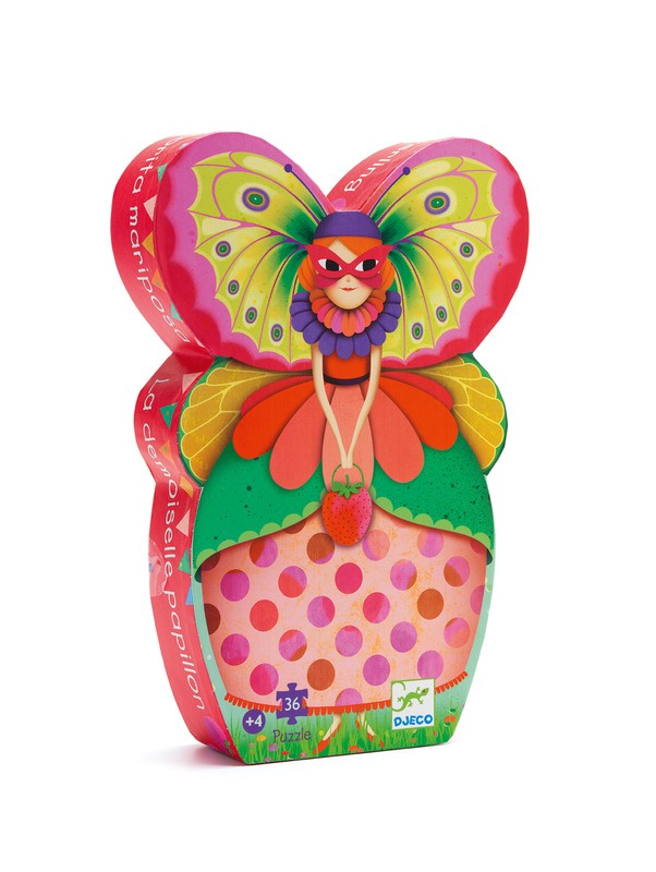 Butterfly Lady Puzzle