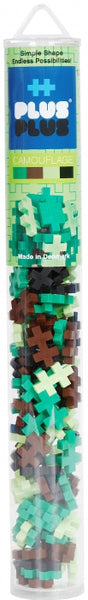 Camouflage Plus Plus Bricks Tube