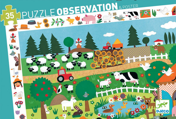 Farm Observation Puzzle