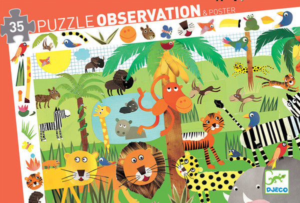 Observation Jungle Puzzle