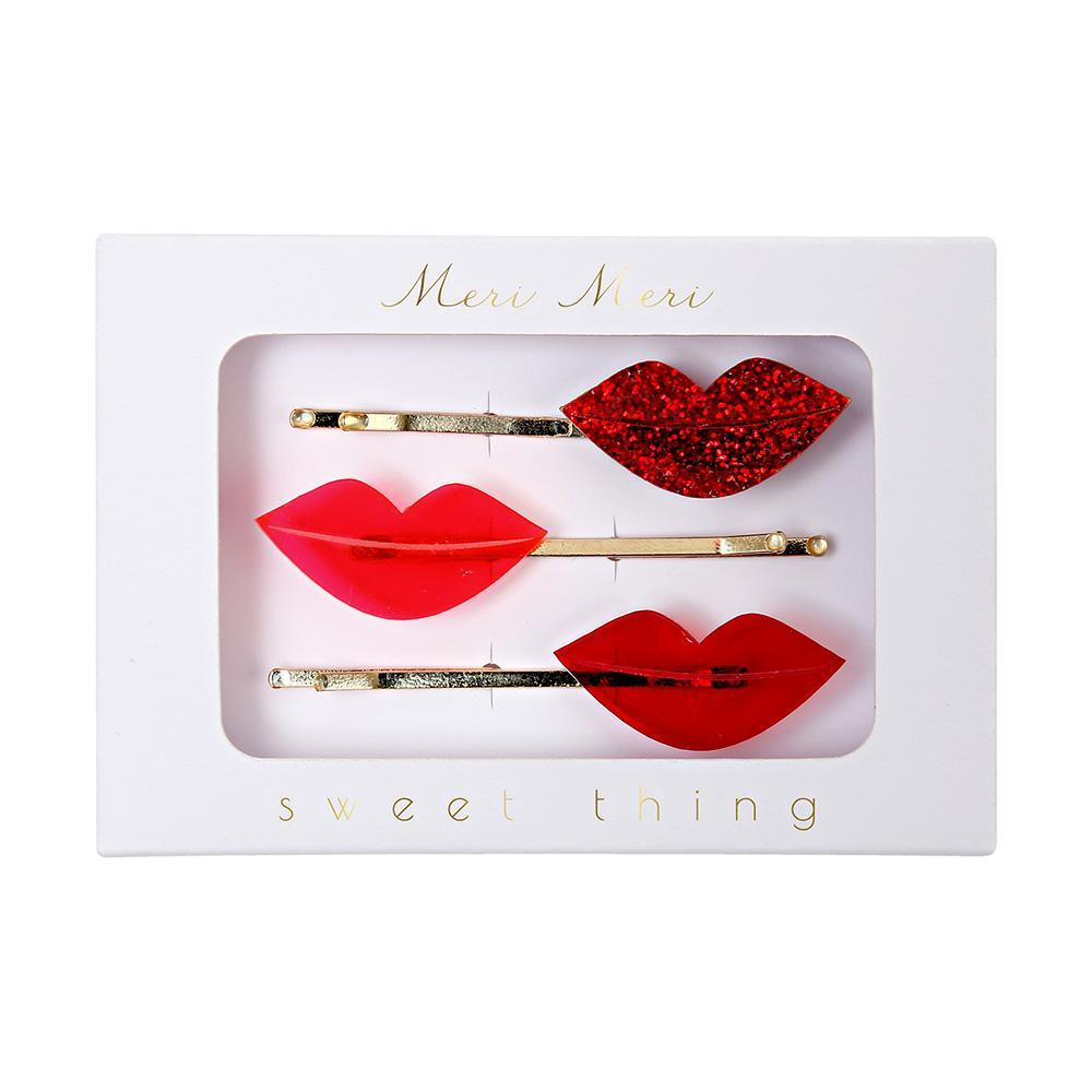 Lips Hair Slides