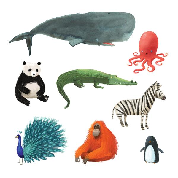 Wildlife Set by Oliver Jeffers