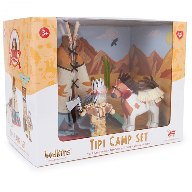 Budkins Tipi Camp Set
