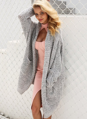 Knitted Oversized Comfy Cardigan